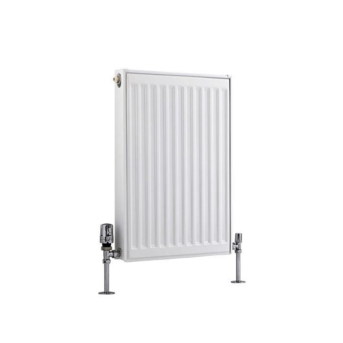 Basic Paneelradiator T 11 Horizontaal Wit 60cm x 40cm x 5cm 370 Watt