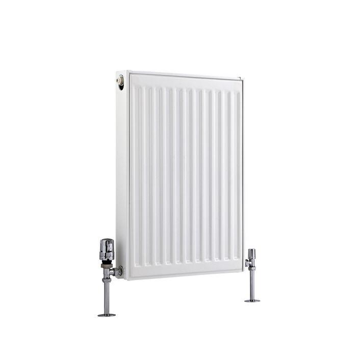 Basic Paneelradiator T 21 Horizontaal Wit 60cm x 40cm x 7,3cm 535 Watt