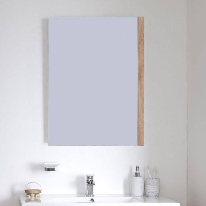 Badkamerspiegel Goud Eiken 50 x 70cm - Newington