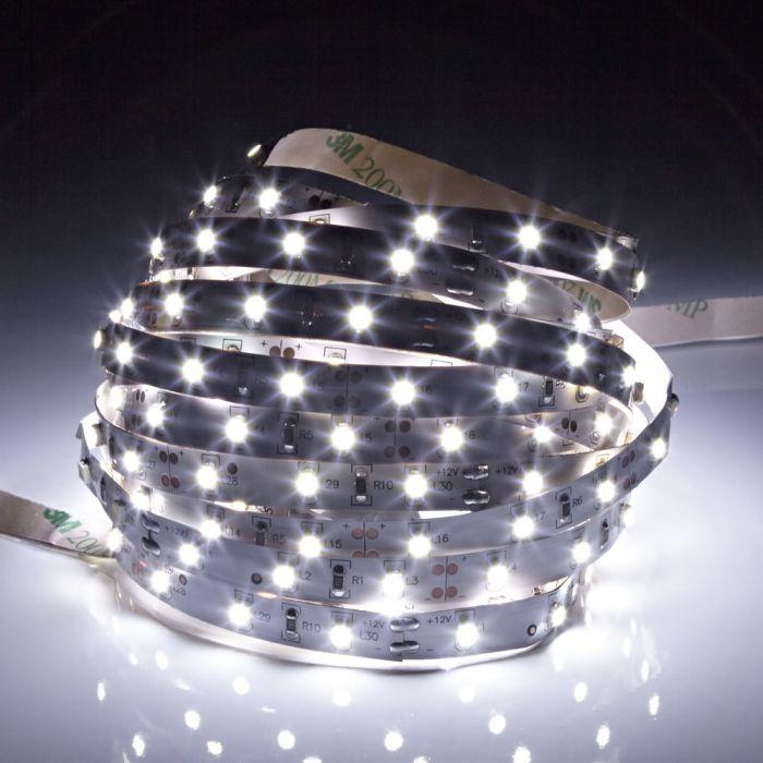 IP20 Led 3528 Strip Verlichting - 5 Meter - Koel Wit - Binnenverlichting