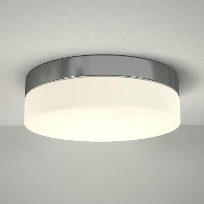 Tahoe LED Badkamer Plafondlamp Rond d. 34,7cm Chroom 24W LED IP44