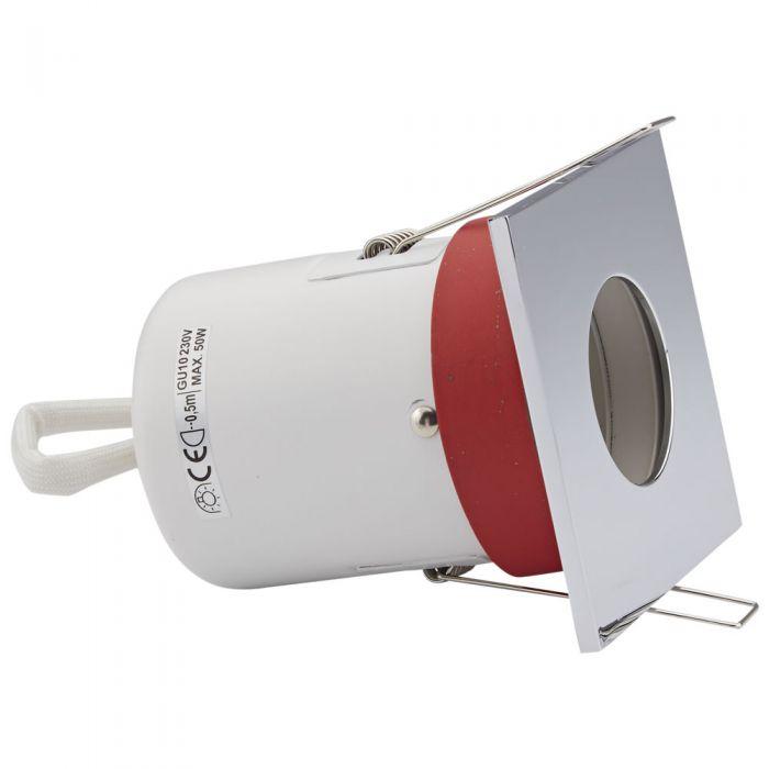 IP20 GU10 Inbouwspot Excl Lamp Keus Uit 3 x Omlijstingen Vierkant