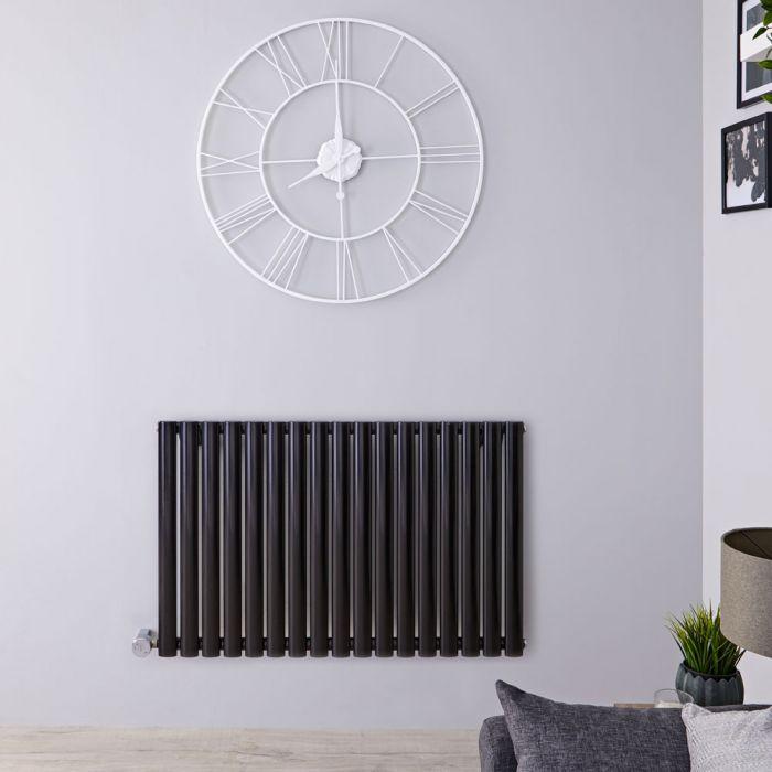 Revive Elektrische Radiator Horizontaal Zwart 63,5cm x 100cm x 5,5cm