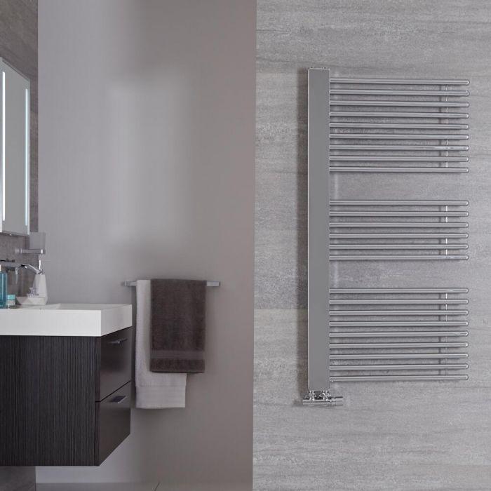 Bosa Designer Handdoekradiator Chroom 119cm x 60cm 667Watt