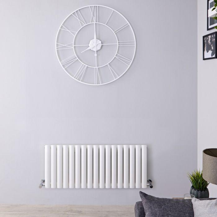 Revive Designradiator Horizontaal Wit 40cm x 100cm x 5,6cm 770 Watt