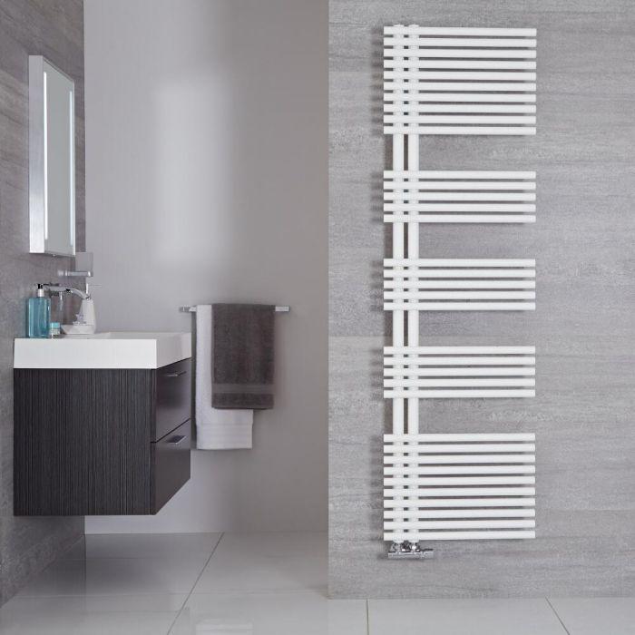 Iseo  Designer Handdoekradiator Mineraal Wit 170cm x 50cm 1025Watt