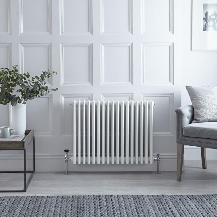 Kolomradiator Horizontaal Klassiek Wit 60 x 78,5cm 1613 Watt | Windsor