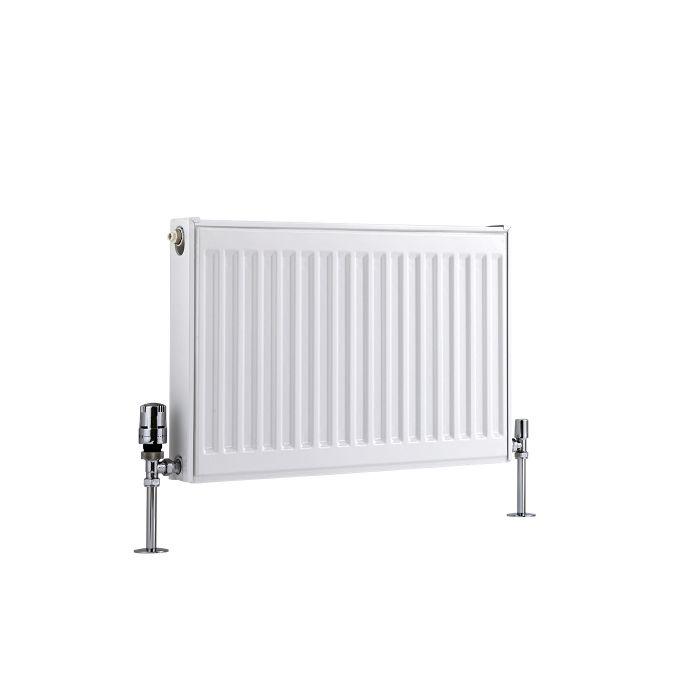 Basic Paneelradiator T 11 Horizontaal Wit 40cm x 60cm x 5cm 410 Watt