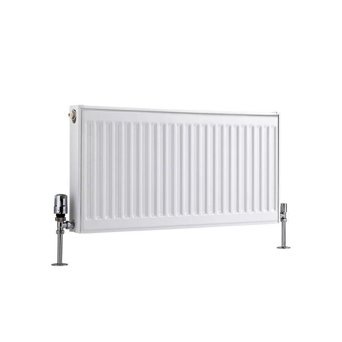 Basic Paneelradiator T 11 Horizontaal Wit 40cm x 80cm x 5cm 547 Watt