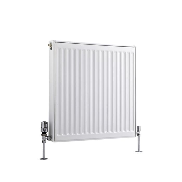 Basic Paneelradiator T 11 Horizontaal Wit 60cm x 60cm x 5cm 555 Watt