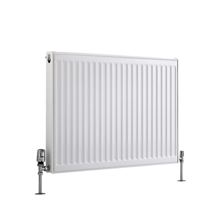Basic Paneelradiator T 21 Horizontaal Wit 60cm x 80cm x 7,3cm 1071 Watt