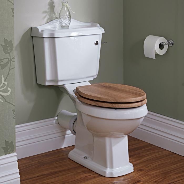 Klassieke Toilet met toilezitting