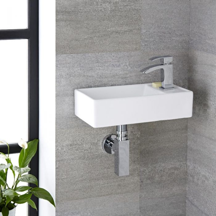 Halwell Keramische Toilet Fontein 40 x 22 cm
