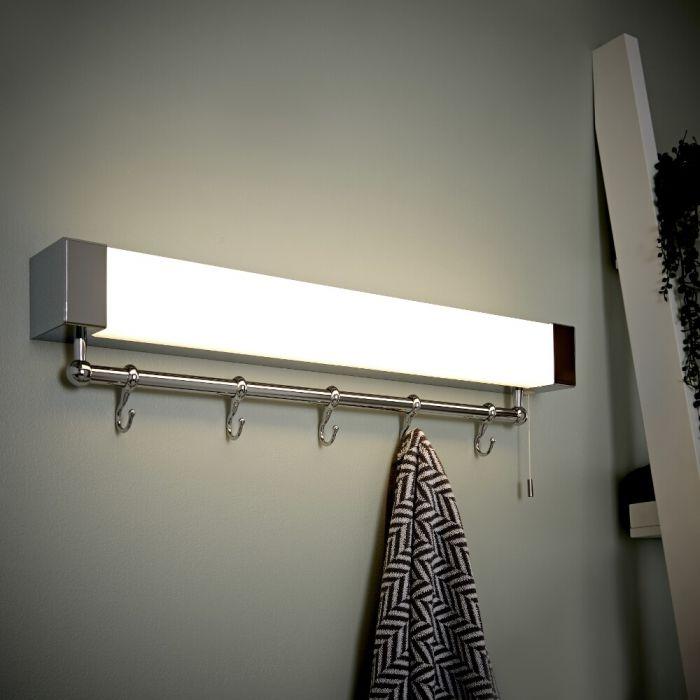 Achen LED Badkamer Wandplank met LED lamp IP44