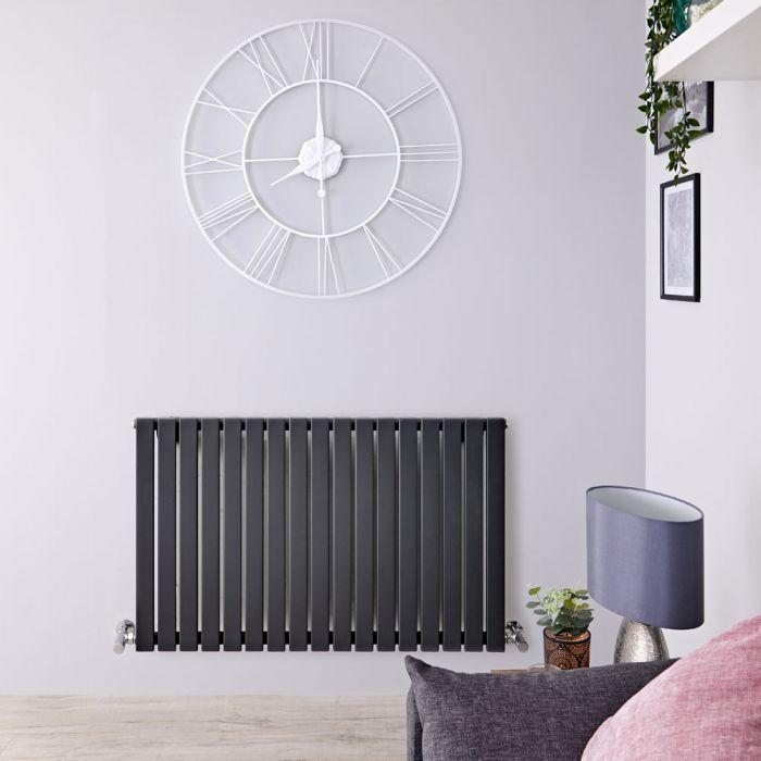 Sloane Designradiator Horizontaal Antraciet 63,5cm x 100cm x 5,4cm 1022 Watt