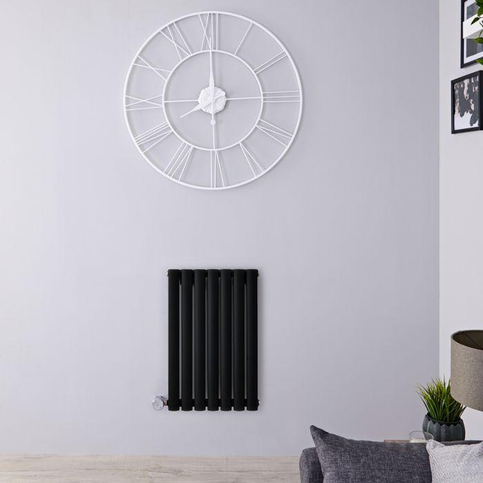 Designradiator Elektrisch Thermostatisch Horizontaal Zwart 63,5cm x 41,5cm | Revive