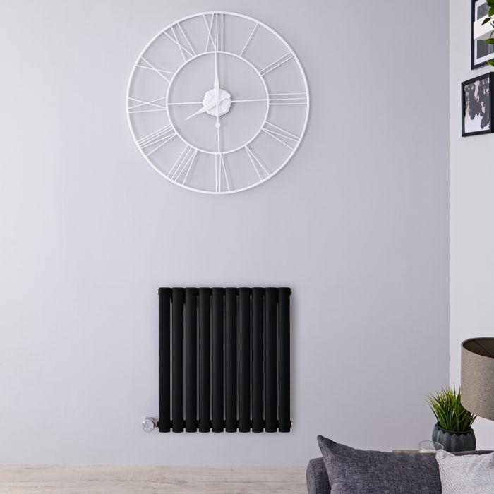 Designradiator Elektrisch Thermostatisch Horizontaal Zwart 63,5cm x 160cm | Revive
