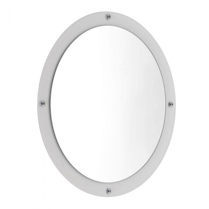 Atrani  Spiegel d. 32cm Wit