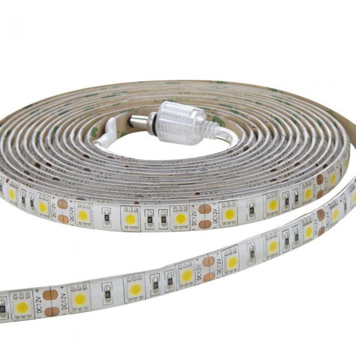 1 x IP65 Waterbestendige LED 5050 strip verlichting - 5m - Warm wit