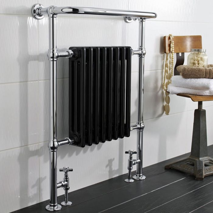 Marquis Designradiator Verticaal Chroom 96cm x 67,5cm x 23cm 680 Watt