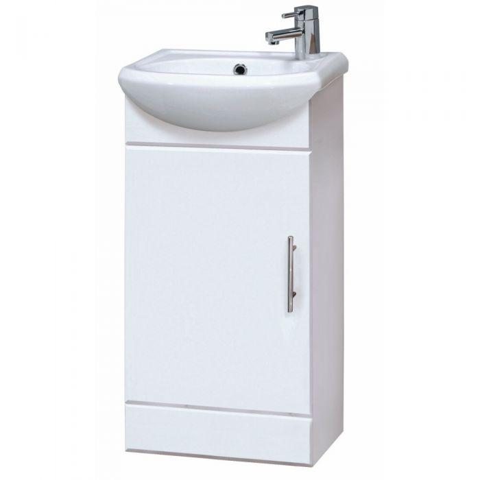 Luxe Wastafelmeubel/Toiletmeubel - 40cm x 29cm x 81cm