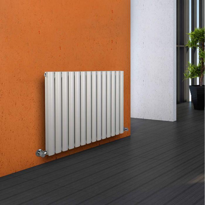 Revive Designradiator Horizontaal Wit 63,5cm x 83,4cm x 7,8cm 1304 Watt