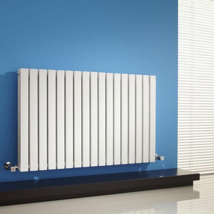 Sloane Designradiator Horizontaal Wit 63,5cm x 100cm x 7,1cm 1587 Watt