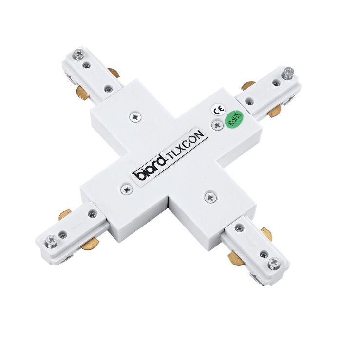 1 x X-model Doorverbinder - Wit