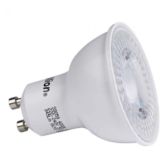 1 x GU10 3,6W LED Spot - Vervangt 40W