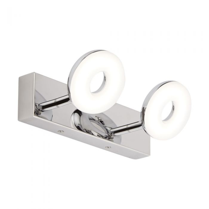 Ciambella Badkamerlamp 12W LED ( 2 lampen uitvoering) 180 ° Kantelbaar