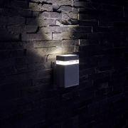 Architect Opwaartse Buitenlamp - gehoekt - Chroom