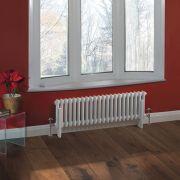 Windsor Designradiator Horizontaal Klassiek Wit 30cm x 101,3cm x 6,8cm 700 Watt