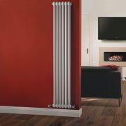 Windsor Designradiator Verticaal Klassiek Wit 180cm x 29cm x 6,8cm 934 Watt