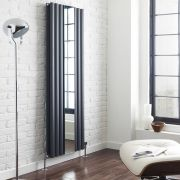 Revive Designradiator Verticaal Antraciet 180cm x 49,9cm x 10,5cm 1613 Watt