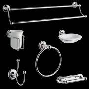 6-delig Klassiek Badkamer Accessoires Set