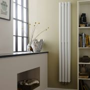 Revive Designradiator Verticaal Ruimtebesparend Wit 180cm x 23,6cm x 7,8cm 810 Watt