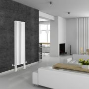 Revive Plus Designradiator Verticaal Met poten Wit 180cm x 47,2cm x 7,8cm 1638 Watt