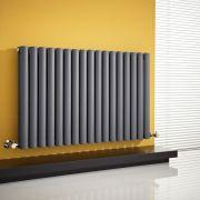 Revive Designradiator Horizontaal Antraciet 63,5cm x 100cm x 7,8cm 1584 Watt