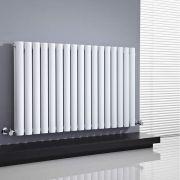 Revive Designradiator Horizontaal Wit 63,5cm x 100cm x 7,8cm 1584 Watt