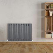 Revive Designradiator Horizontaal Antraciet 63,5cm x 83,4cm x 5,6cm 836 Watt