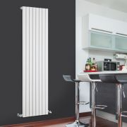 Sloane Designradiator Verticaal Wit 178cm x 47,2cm x 5,3cm 1196 Watt
