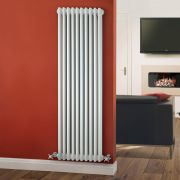 Windsor Designradiator Verticaal Klassiek Wit 150cm x 47,3cm x 10cm 1734 Watt