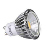 1 x GU10 5W Dimbare COB LED Spot - Vervangt 50W