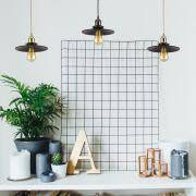 Noord Hanglamp E27 Zwart - ( keus uit 5 fitting kleuren)