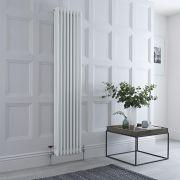 Windsor Designradiator Verticaal Klassiek Wit 180cm x 38,3cm x 10cm 1558 Watt