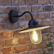 Sienna Wandlamp Buiten Zwart excl Lamp - E27 / IP44