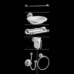 Traditioneel Badkameraccessoires set - 6-delig
