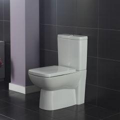 Duoblok Compact Toilet met Reservoir en Toiletzitting