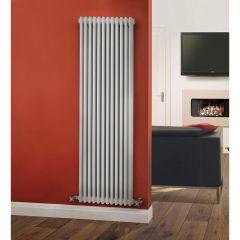 Windsor Designradiator Verticaal Klassiek Wit 180cm x 56,3cm x 10cm 2338 Watt