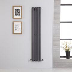 Revive Designradiator Verticaal Antraciet 140cm x 23,6cm x 5,6cm 457 Watt